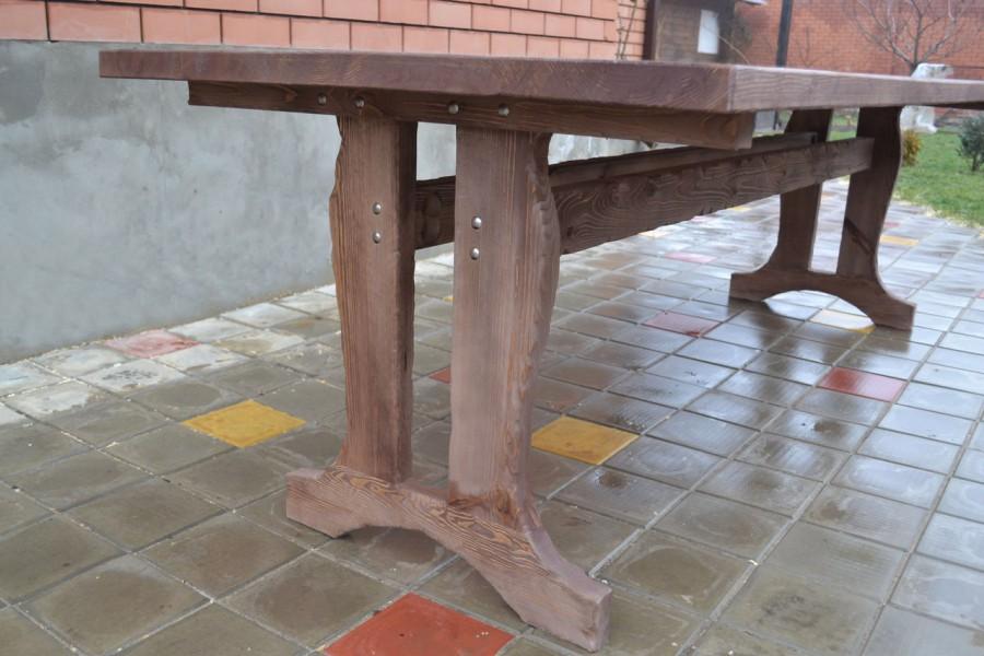 новости стол под старину мебель из дерева садовая для