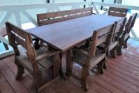 Мебель для беседки деревянная