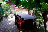 Уличная деревянная мебель Викинг 2,5м/2, цвет палисандр