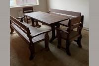 Садовая мебель из дерева в Краснодар, цвет палисандр