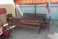 Фото отзыв покупателя из Краснодара о садовой мебели ШАЛЕ Izderva23