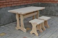 Мебель для бани из сосны