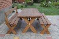 Мебель для сада: стол, скамейка, лавка из дерева