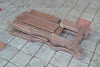 Садовый стул из дерева ШАЛЕ в разобранном виде
