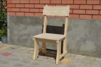 Садовый стул из дерева ШАЛЕ в собранном виде