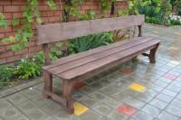 Садовая скамейка Шале 2,5 метра в собранном виде