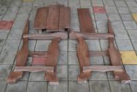 Садовое кресло ШАЛЕ в разобранном виде