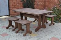 Новинка - бюджетный набор садовой мебели  ШАЛЕ 1,2м!