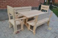Мебель из дерева для дачи и бани
