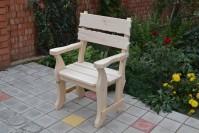 Кресло для бани и сауны, неокрашенное