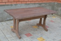 Стол под старину для кафе, бара, ресторана, цвет палисандр