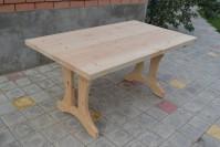 Деревянный стол для бани и сауны, неокрашенный
