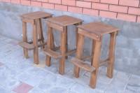 Деревянные барные стулья и табуреты