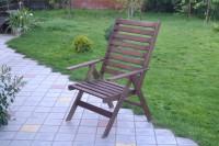 Кресло-шезлонг цветом палисандр!