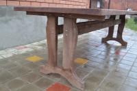 Стол из дерева под старину!