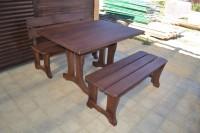 Мебель из дерева в экостиле для бани, дачи дома