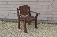 Новое кресло из дерева - Викинг!