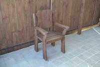 Кресло садовое из дерева