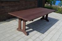 Стол из массива дерева для кафе, бара, ресторана, цвет палисандр
