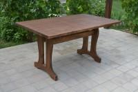 Стол для дачи, кафе деревянный, цвет орех