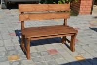Скамейка из дерева для сада, дачи, бани, кафе