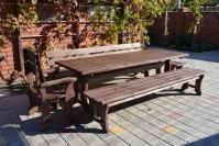 Садовая мебель из дерева: стол, скамейка, лавка, кресло, табурет