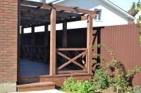 Беседки, террасы из дерева изготовим и установим в Анапе